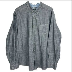 Eddie Bauer Classic Fit Cotton Chambray Big Tall